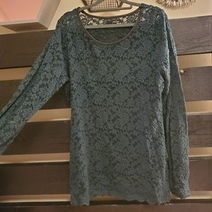 Maurices Lacey Long Sleeve Tee